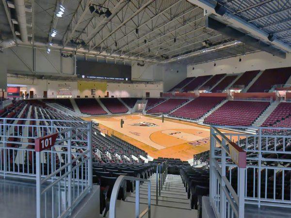 Schar Center court